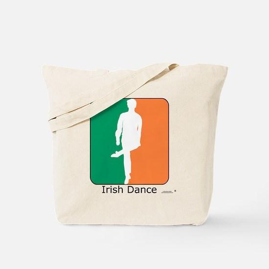 Irish Dance Tricolor Boy Tote Bag