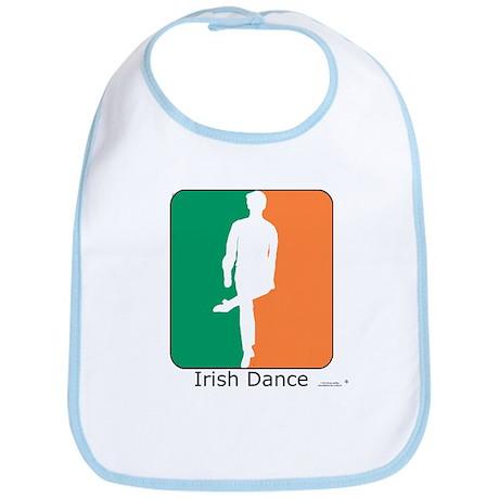 Irish Dance Tricolor Boy Bib
