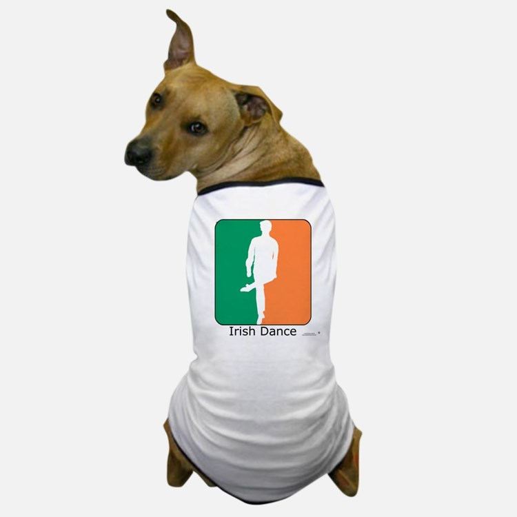 Irish Dance Tricolor Boy Dog T-Shirt
