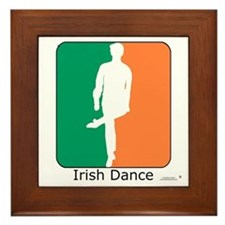 Irish Dance Tricolor Boy Framed Tile