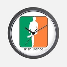 Irish Dance Tricolor Boy Wall Clock