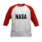 NASA (Front) Kids Baseball Jersey