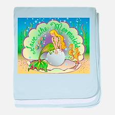 Pearl baby blanket