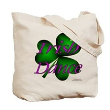 Irish Dance Tricolor Girl Tote Bag