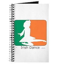 Irish Dance Tricolor Girl Journal