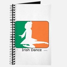Irish Dance Tricolor Girl Journal