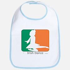 Irish Dance Tricolor Girl Bib
