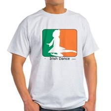 Irish Dance Tricolor Girl T-Shirt