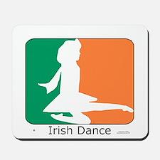 Irish Dance Tricolor Girl Mousepad