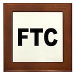 FTC Federal Trade Commission Framed Tile