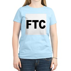FTC Federal Trade Commission (Front) Women's Pink