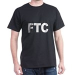 FTC Federal Trade Commission (Front) Black T-Shirt