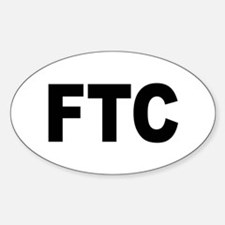 FTC Federal Trade Commission Oval Decal