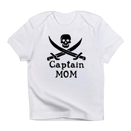 Captain Mom Infant T-Shirt
