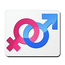 Openly Heterosexual Mousepad