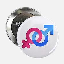 """Openly Heterosexual 2.25"""" Button"""