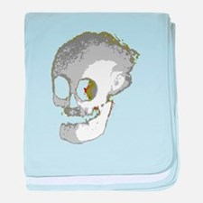 Skully Crap baby blanket