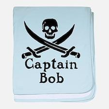 Captain Bob baby blanket