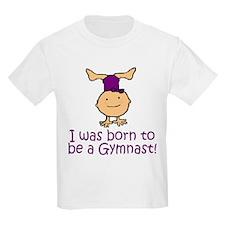 Born to be a Gymnast Madison Kids T-Shirt