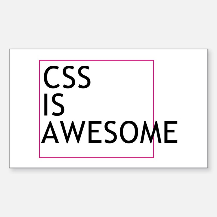 CSS is Awesome Decal