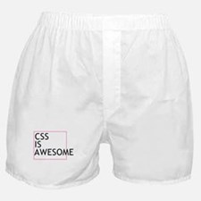 CSS is Awesome Boxer Shorts