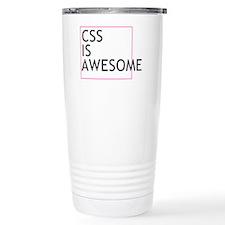 CSS is Awesome Travel Mug
