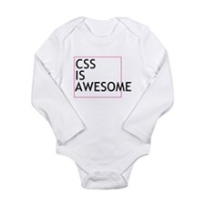 CSS is Awesome Long Sleeve Infant Bodysuit