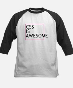 CSS is Awesome Kids Baseball Jersey