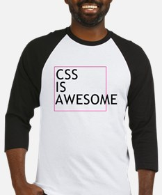 CSS is Awesome Baseball Jersey