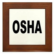 OSHA Framed Tile
