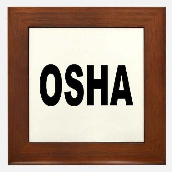 OSHA Framed Tile