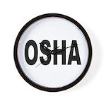 OSHA Wall Clock