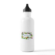 I Believe In Mermaids Water Bottle