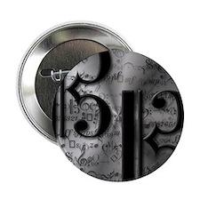 Alto Clef on Silver Button
