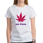 420 Chick Women's T-Shirt