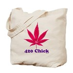 420 Chick Tote Bag