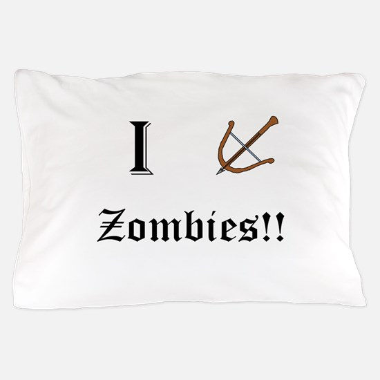 I destory Zombies Pillow Case