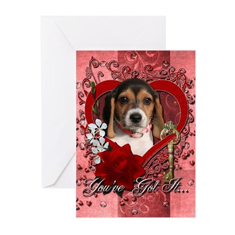 Valentines - Key to My Heart Greeting Cards (Pk of