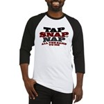 Tap Snap or Nap BJJ Baseball Jersey