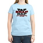 Tap Snap or Nap BJJ Women's Light T-Shirt