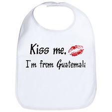 Kiss Me: Guatemala Bib