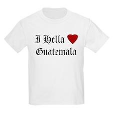 Hella Love Guatemala Kids T-Shirt