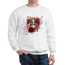Valentines - Key to My Heart Sweatshirt