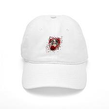 Valentines - Key to My Heart Baseball Cap