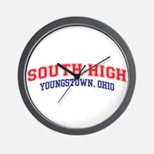 South High School Wall Clock
