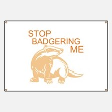 Cute Badger Banner