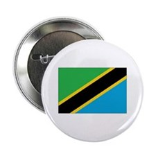 "Tanzania Flag 2.25"" Button"