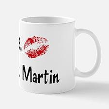 Kiss Me: St. Martin Mug