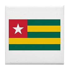 Togo Flag Tile Coaster