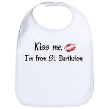 Kiss Me: St. Barthelemy Bib